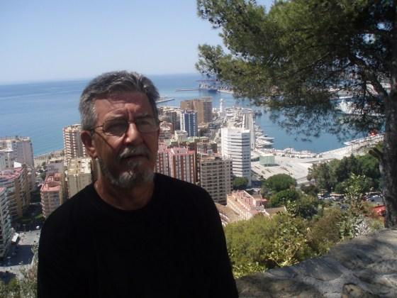 Andrés Cifuentes Lozano (Al fondo puerto de Málaga)