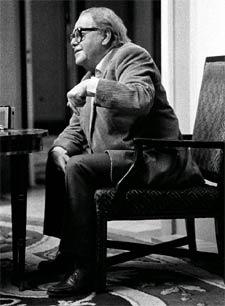 El escritor suizo Max Frisch. / ALFREDO GARCÍA FRANCÉS