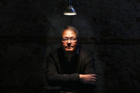 Rainer Voss, retratado la semana pasada en la Cineteca de Madrid. / carlos rosillo