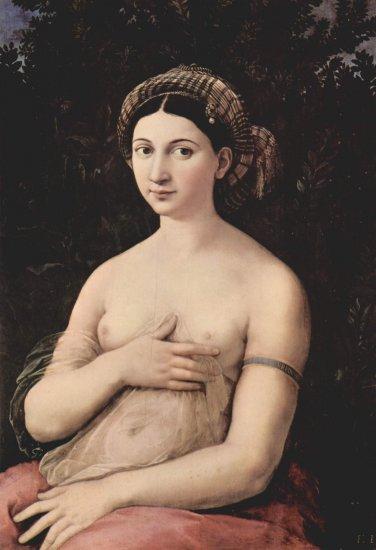 La Fornarina de Rafael, 1518-1519