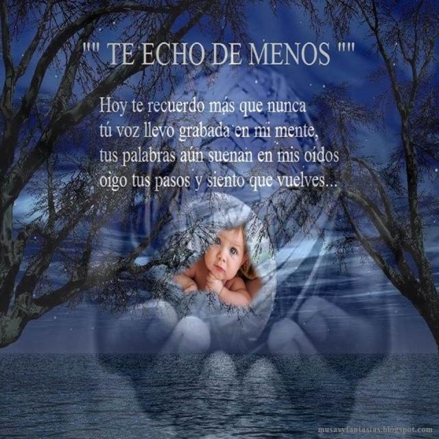 TE ECHO DE MENOS