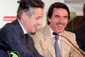 Blesa y Aznar, amigos y visitantes de Miami