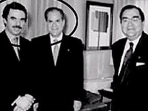 Aznar con Mas Canosa: viejas fotos, nuevas relaciones