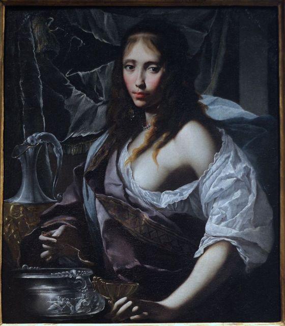 Retrato imaginario de Artemisia, atribuido a Francesco Furini, c. 1630.