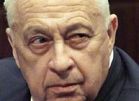 el general Ariel Sharon, responsable de las matanzas de Sabra y Chatila y de la muerte de miles de palestinos