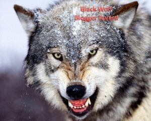 Black Wolf Blogger Award1