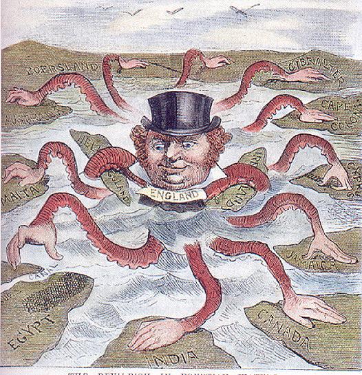 Alegoría del Imperialismo Británico