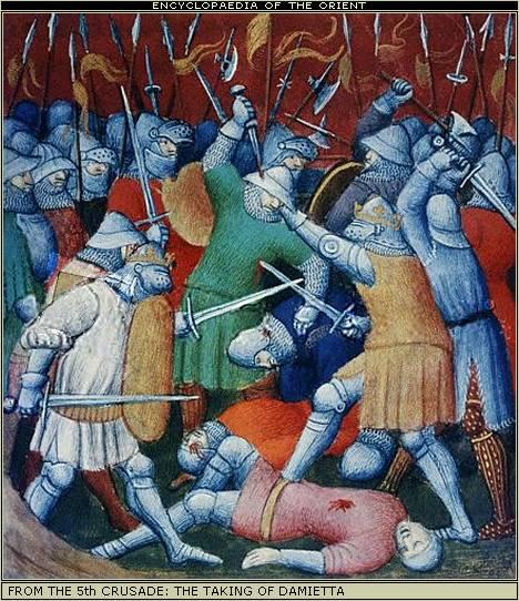 Se calcula que las diversas matanzas y guerras llevadas a cabo por los cruzados produjeron cinco millones de muertes durante tres siglos y medio.