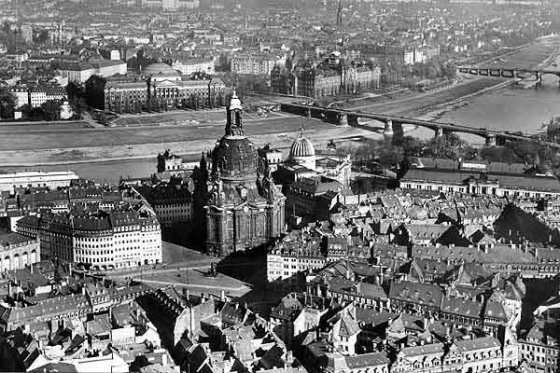 Dresden antes del bombardeo
