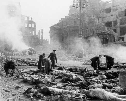 Dresden después del bombardeo