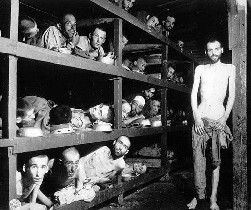Sobrevivientes judíos de los campos de concentración nazis