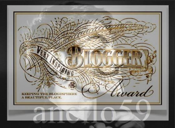 Inspiring Blogger Award.