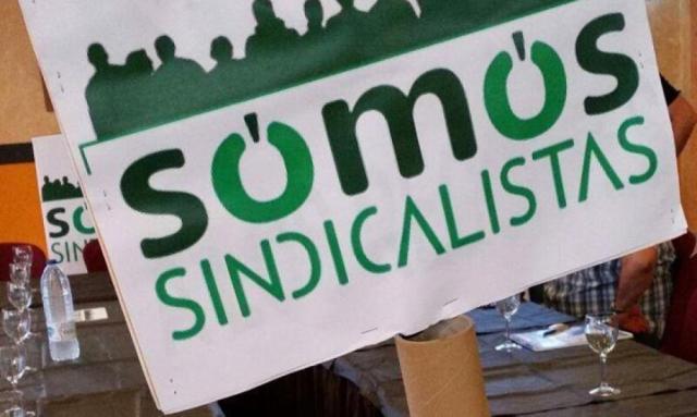 Logotipo del nuevo sindicato vinculado a Podemos. (Facebook/Somos) Leer más:  Somos, la marca sindical de Podemos, se estrenará dando la batalla en RTVE. Noticias de España  http://bit.ly/1xvHBzm