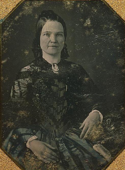 Retrato de Mary Todd Lincoln, esposa de Abraham Lincoln.