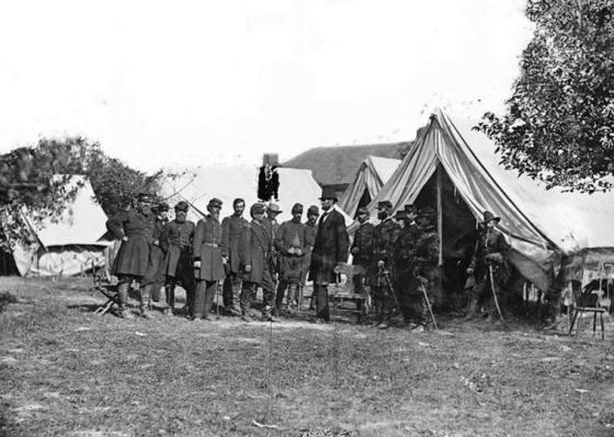 Lincoln después de la Batalla de Antietam