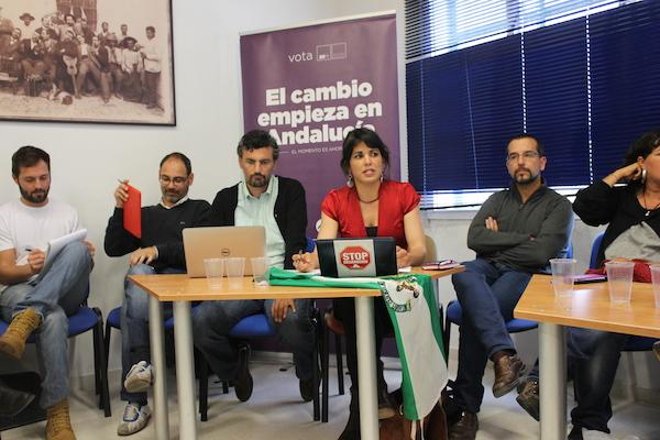 Reunión del Consejo Ciudadano de Podemos.