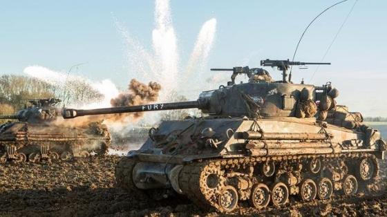 SONY PICTURES Tal como se ve en la película protagonizada por Brad Pitt, los estadounidenses se enfrentaron a un enemigo formidable