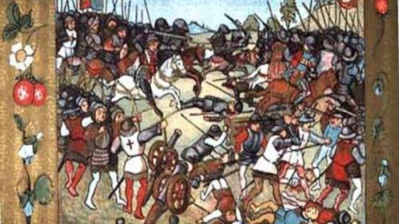 El rey escocés murió al lado de diez mil hombres en una batalla conjunta contra Inglaterra y Enrique VIII