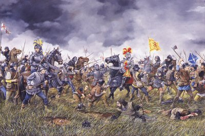 La batalla de De Flodden