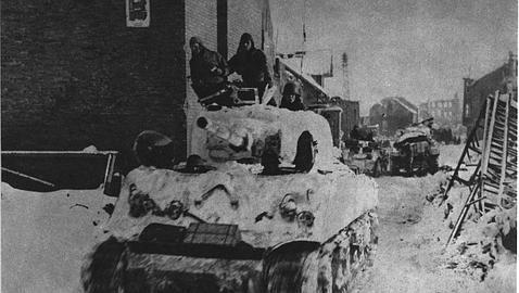 Los cañones de los Sherman tenían problemas para enfrentarse a los carros alemanes más pesados (Archivo ABC)