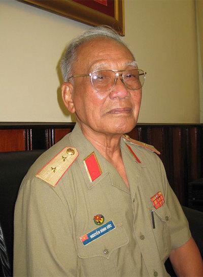 El teniente coronel Yen Dinh Uoc. / GEORGINA HIGUERAS