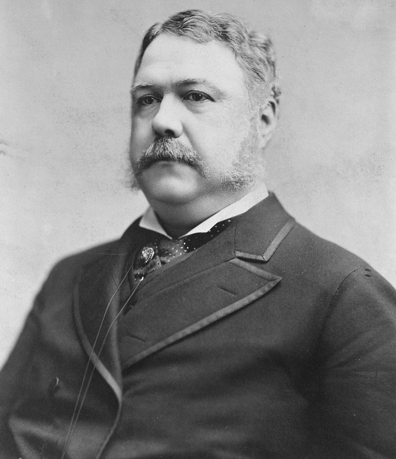 Chester Alan Arthur - vigésimo primer presidente de los Estados Unidos
