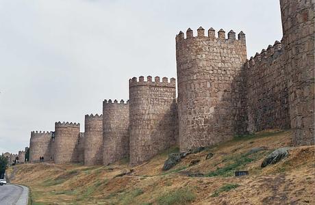 WIKIPEDIA Fotografía de las murallas de Ávila