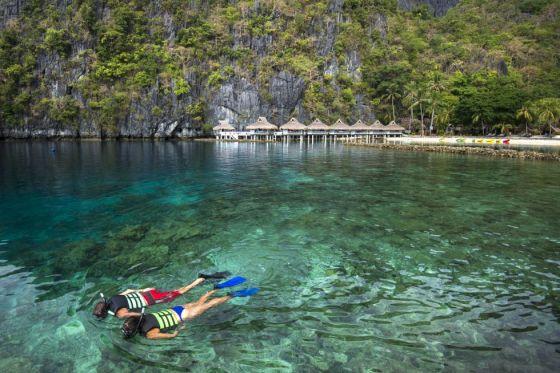 El Nido, en la provincia de Palawan (Filipinas).