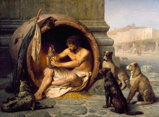 800px-Jean-Léon_Gérôme_-_Diogenes_-_Walters_37131