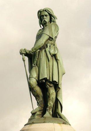 Vercingetorix es para los franceses un héroe nacional (Wikimedia commons)