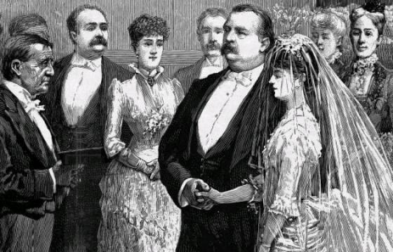 La boda entre Grover Cleveland y Frances Folsom es la única que se ha celebrado en la Casa Blanca (Wikimedia c …