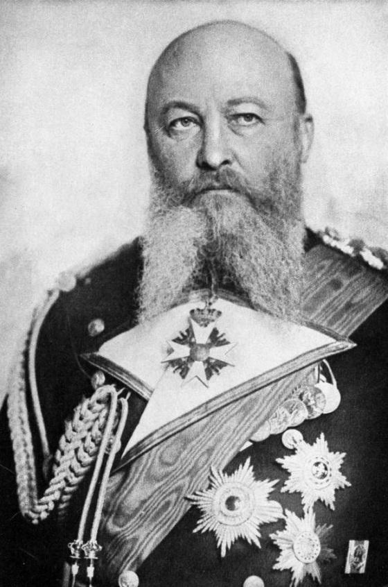 El almirante Von Tirpitz, primer fundador de la Marina alemana
