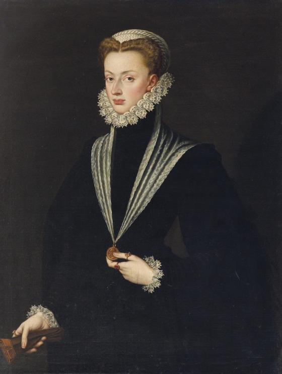 Retrato de Catalina de Austria, en 1552
