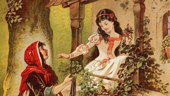 Ilustración de Carl Offterdinger sobre el popular cuento de los hermanos Grimm - Wikimedia.