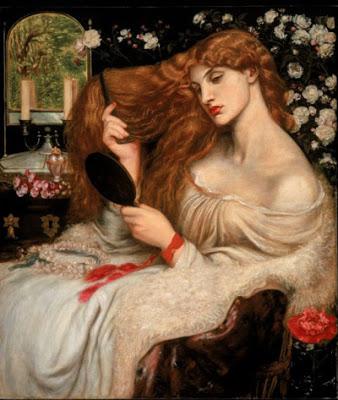lady-Lilith dante gabriel rossetti 1868