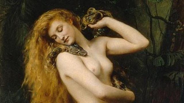 Representación de Lilith (1892), por John Collier - abc