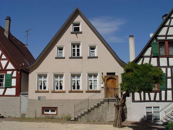 La Mesmerhaus, en Messkirch, casa en la que se crió Heidegger.