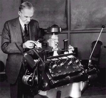 Ford y su motor V8