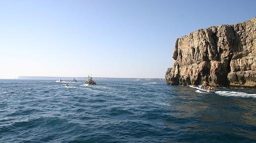 El cabo de San Vicente desde el sur- Wikimedia