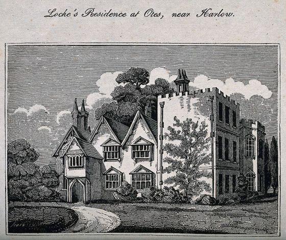 Residencia Otes, donde John Locke pasó los últimos catorce años de su vida.