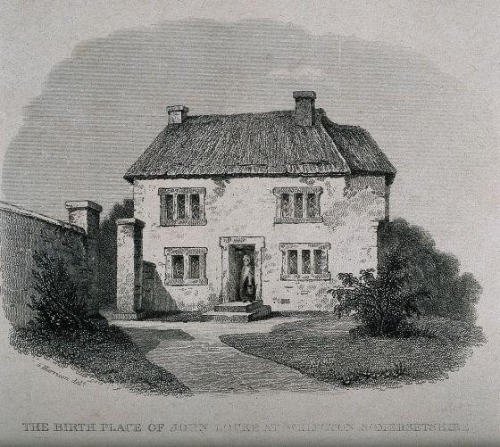 La cabaña donde Locke nació.
