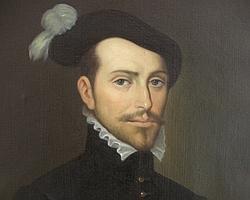 Retrato idealizado de Hernán Cortés