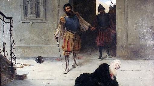 Francisco de Pizarro, herido de muerte en su palacio de Lima- Wikimedia