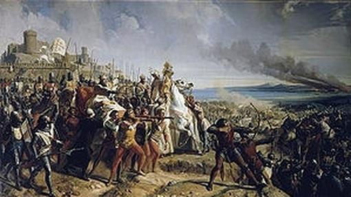 Balduino, en Montgisard- Wikimedia