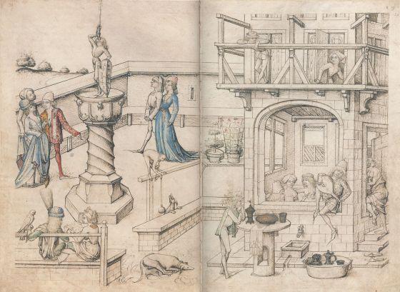 Antiguos baños, s. XV