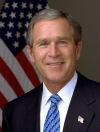 George W. Bush – 43.º presidente de los Estados Unidos de América entre 2001 y2009.