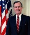 George HW Bush – Cuadragésimo primer Presidente de los Estados Unidos entre 1989 y1993*