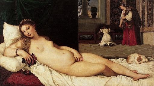 «La Venus de Urbino», de Tiziano- GALERÍA DE LOS UFFIZI, FLORENCIA - Fuente