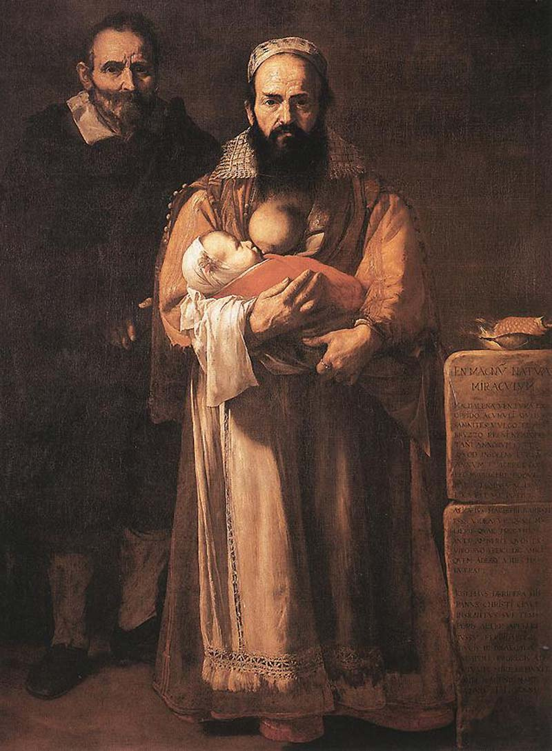 """""""Magdalena Ventura con su marido"""", de José de Ribera."""