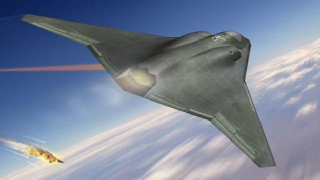 El diseño de Northrop Grumman guarda similitudes con el de los hermanos Horten.